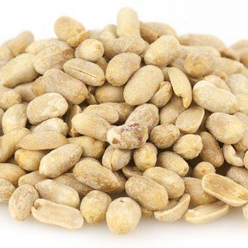 NUTS – PEANUTS, ROASTED & SALTED, SHELLED
